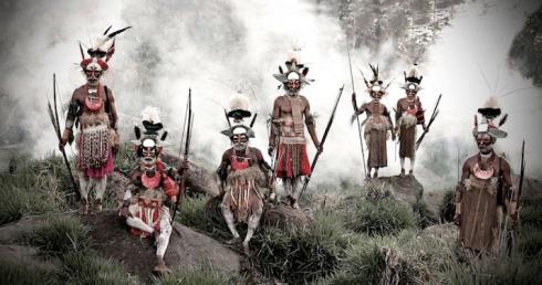 Gorokas d'Indonésie et de Papouasie Nouvelle Guinée